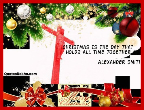 Beautiful Christmas Quote With Image