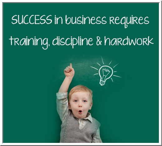 success and business saying pic