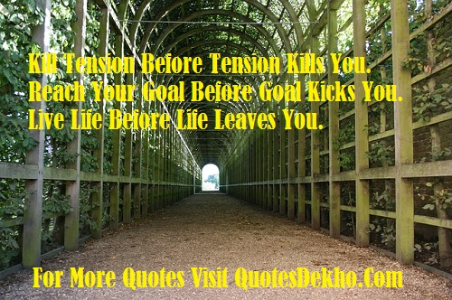 Tension Quotes About Life