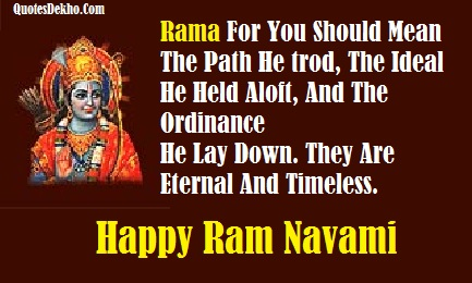 Ram Navami Quotes For Whatsapp