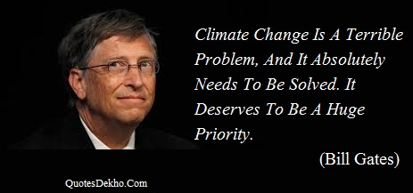 bill gates change quotes whatsapp image