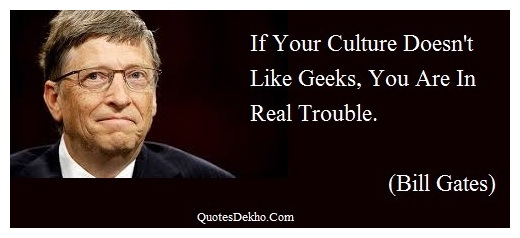 bill gates geeks quotes image whatsapp