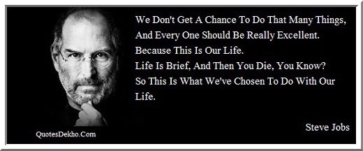 Steve Jobs Quote On Life
