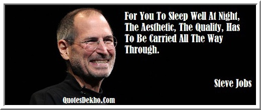 Steve Jobs Night Quotes