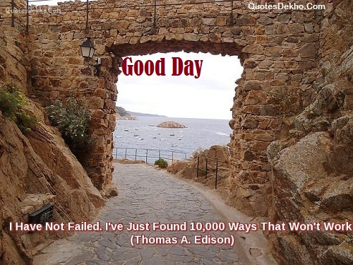good day failure quotes status facebook image
