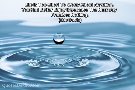 life worry quotes status whatsapp and facebook picture