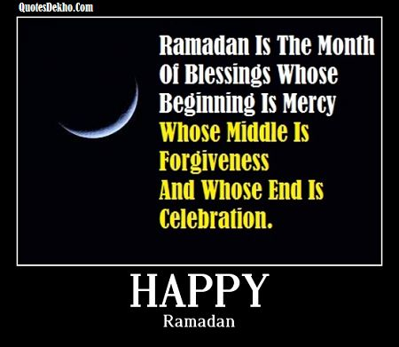 Happy Ramadan Quotes Status