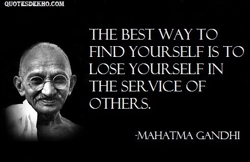 mahatma gandhi advice quotes status  picture