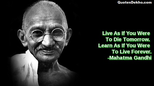 mahatma gandhi status for whatsapp and facebook image