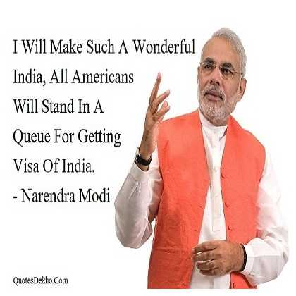 Narendra Modi Quotes On India