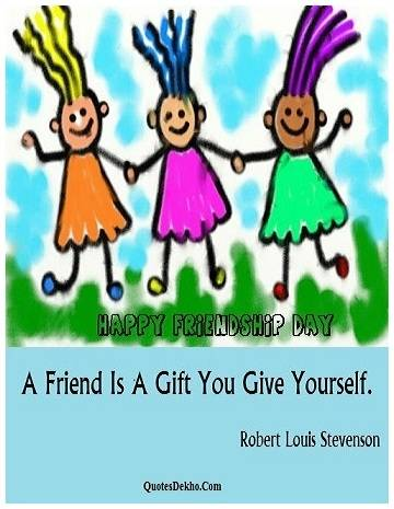 happy friendship day quotes for facebook status picture