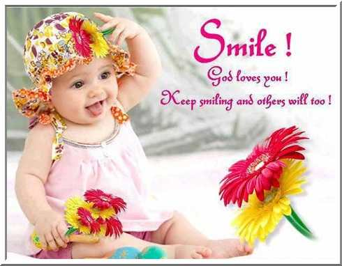 Good Morning Smile Quotes Wallpaper