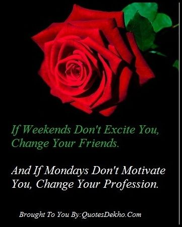 Monday After Sunday Quotes Message