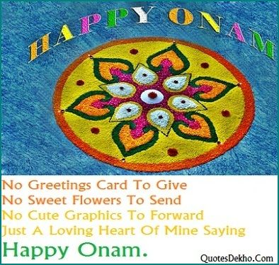 Happy Onam Status