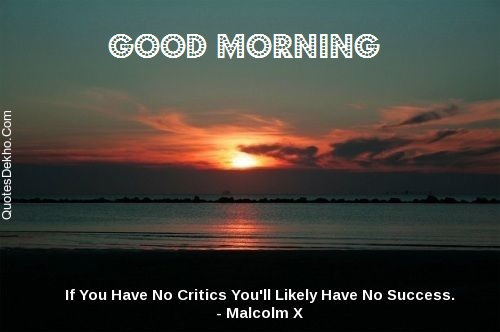 Good Morning Success Status Picture