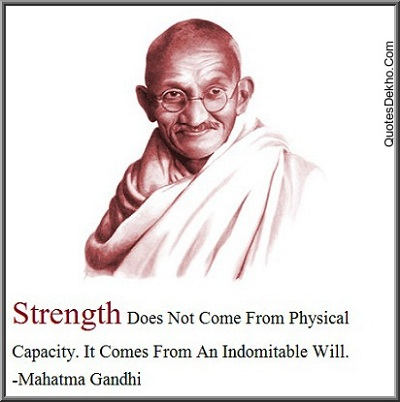 Mahatma Gandhi Jayanti Saying Wallpaper