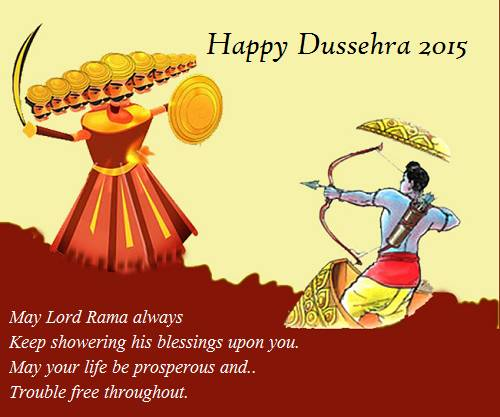 Dussehra Status And Quotes Wishes Wallpaper