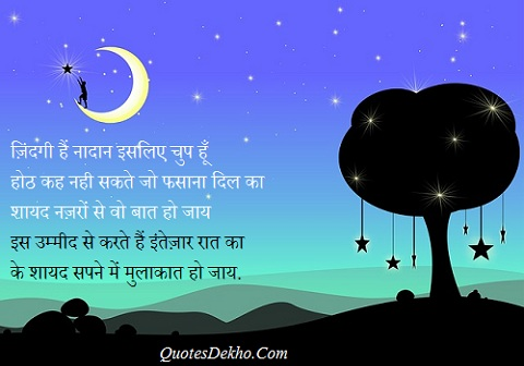 Good Night Love Shayari And Cute Status