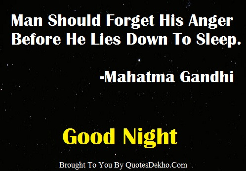 Good Night Whatsapp Quotes Group Anger Status