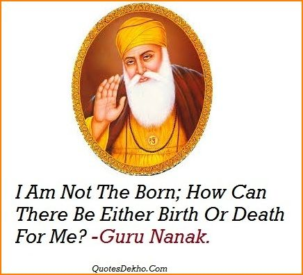 Guru Nanak Jayanti Greetings Status For FB