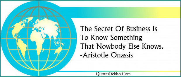 Business Secret Quotes Picture Whatsapp And Facebook