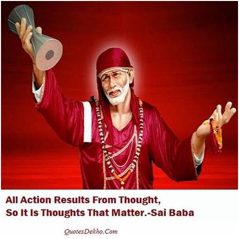 Sai Baba Best Quotes Picture For Friends