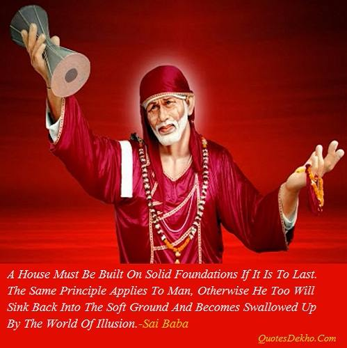 Sai Baba Saying Wallpaper Human Value