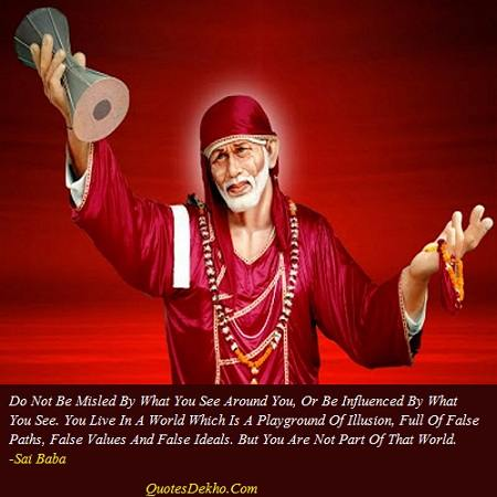 sai baba saying facebook wall post share