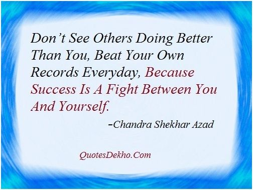 Chandra Shekhar Azad Famous Quotes