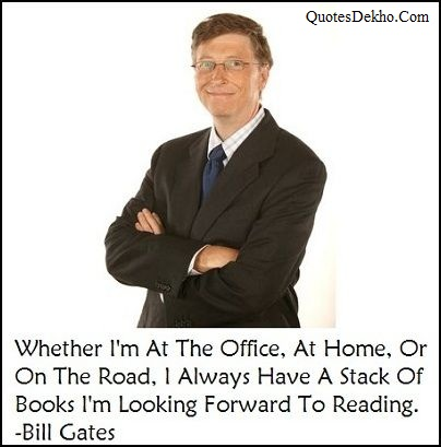 Bill Gates Quotes On Books Facebook Whatsapp Share