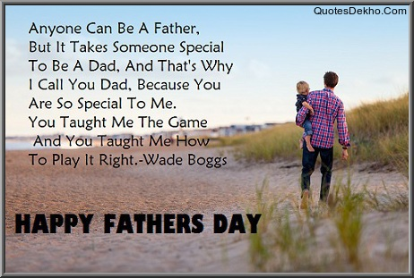 Fathers Day Quotes Message Wallpaper DP