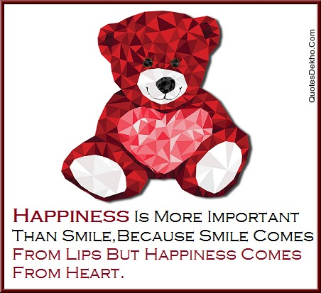 Quotes On Happiness And Smile With Wallpaper