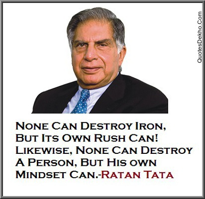 Ratan Tata Motivational Life Quotes Saying Wallpaper