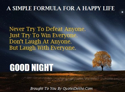 Good Night Quotes For Friend Pic Motivational Image