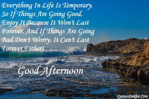 Good Afternoon Facebook Quotes And Post With Wallpaper And Picture
