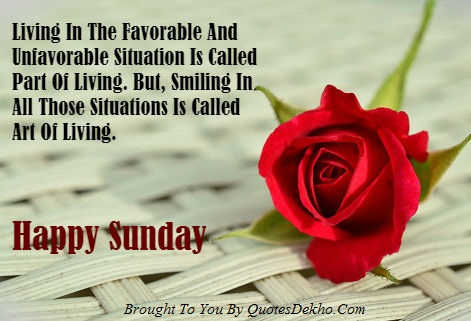 Happy Sunday Inspirational Quotes Image