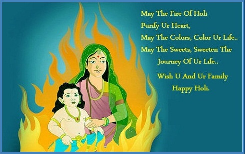 holika dahan quotes status image whatsapp and facebook share