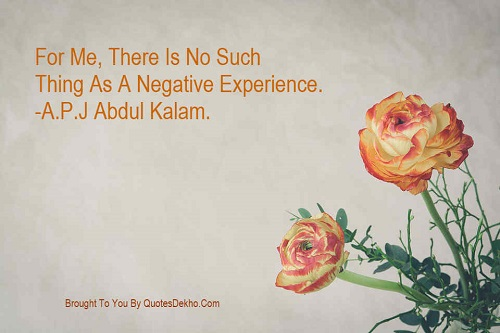 Abdul Kalam Quotes Image Negative Experience Whatsapp And Facebook Share